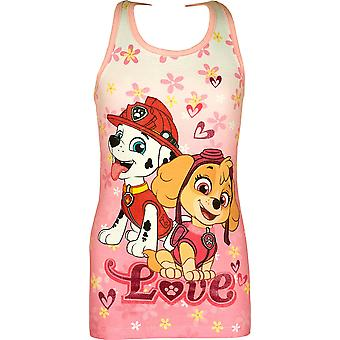 Girls ER1198 Paw Patrol Sleeveless Dress Size 3-6 Years