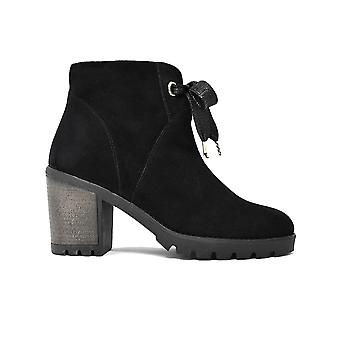 Liberitae ankle boots heel suede black 21803329-01