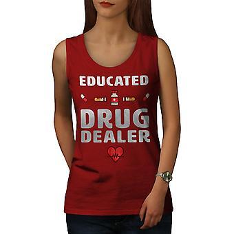 Drug Dealer Women RedTank Top   Wellcoda