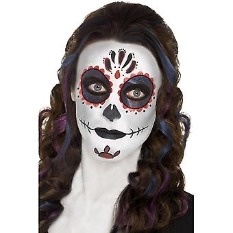 Day of the Dead Make Up Kit, with Face Paints,