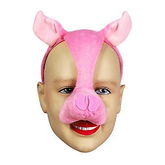 Pig Mask på pannband & ljud.