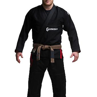 Gameness parel BJJ Gi zwart