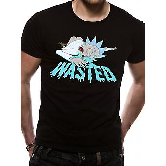 Rick And Morty-Wasted T-Shirt
