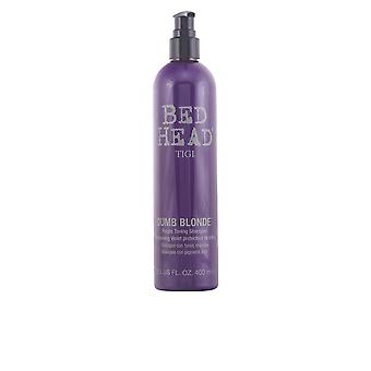 Tigi Bed Head Dumb Blonde lilla Toning Shampoo 400 Ml Unisex