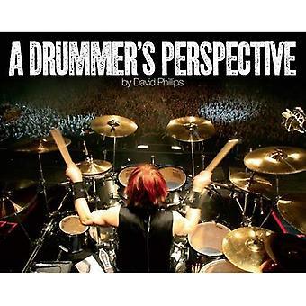 Saksalainen rumpali näkökulmasta: valokuvaus näkemys maailman rumpalit