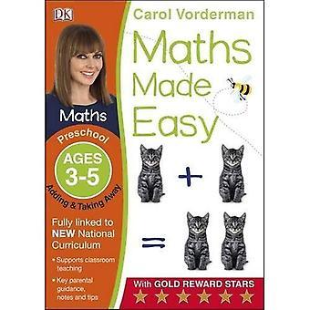 Matte gjorde lätt lägga till och ta bort förskola åldrar 3-5 (Carol Vorderman matematik lätt)
