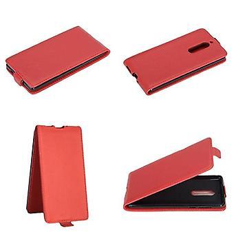 Cadorabo Hülle für Nokia 5 2017 Case Cover - Handyhülle im Flip Design aus glattem Kunstleder - Case Cover Schutzhülle Etui Tasche Book Klapp Style