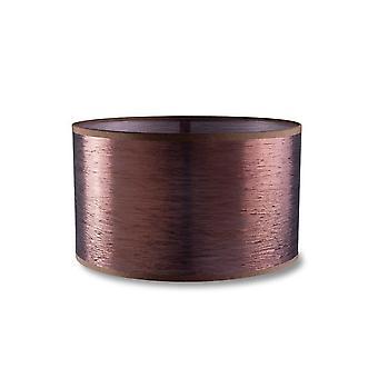 Dress opp ekstra liten runde antikk kobber Finish skygge - LED-C4 PAN-198-V7