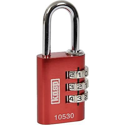 Kasp K10530REDD Padlock 30 mm Red Combination