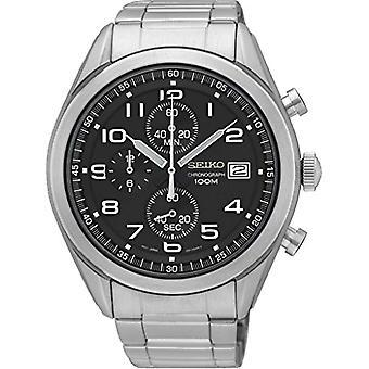 Seiko Chronograph quartz men's Watch with stainless steel band SSB269P1