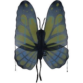 Siivet perhonen keltainen Grn