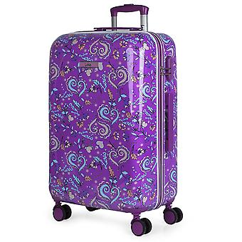 Medium child travel of polycarbonate suitcases stamped 130260 Lois