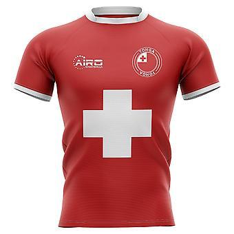 2020-2021 Koszulka rugby Tonga Flag Concept