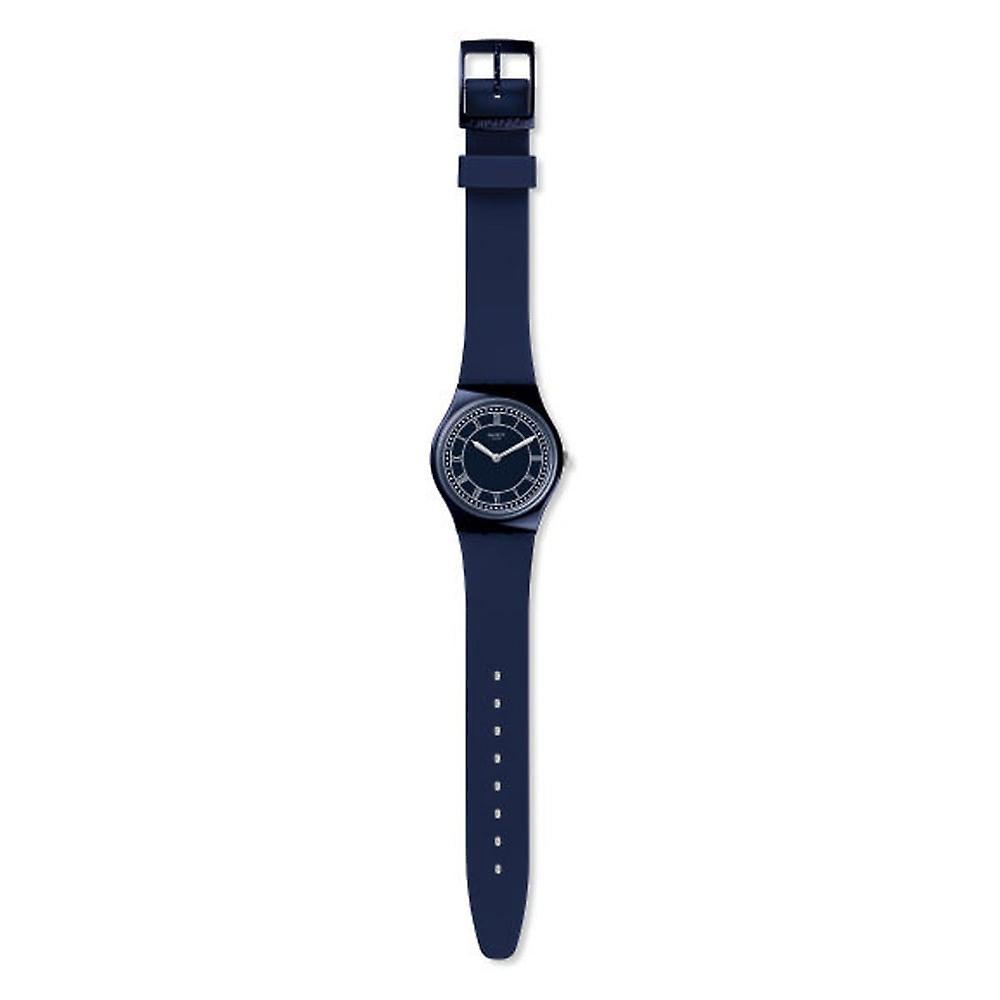 Swatch Gn254 Blue Ben Blue Silicone Watch