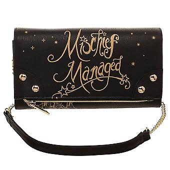 Harry Potter Mischief Manöver der Foldover Clutch Purse