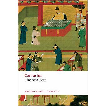 The Analects by Confucius - Raymond Dawson - 9780199540617 Book
