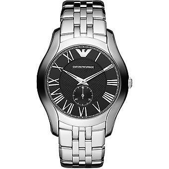 Emporio Armani Ar1706 ultimo Mens classico orologio d'argento