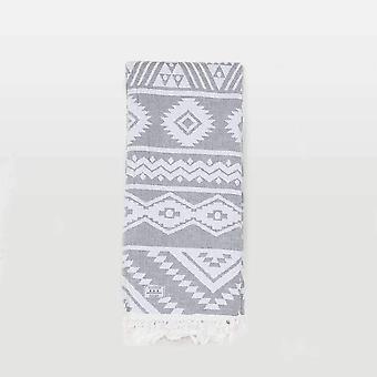Passenger namber towel grey/white