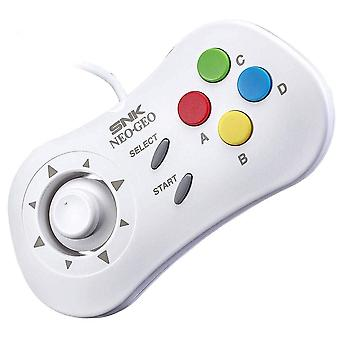 SNK NeoGeo mini consola oficial Control Pad blanco-controlador 40 º aniversario