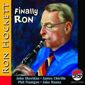 Hockett Ron/Quintet - Finally Ron [CD] USA import