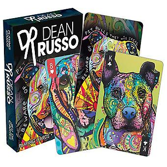 Dean Russo Dogs Playing Cards