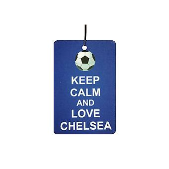 Keep Calm And Love Chelsea Car Air Freshener