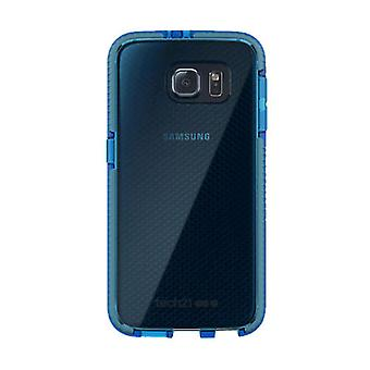 Tech21 Impact Absorbing Evo Check Hybrid Case for Samsung Galaxy S6 - Blue/Grey