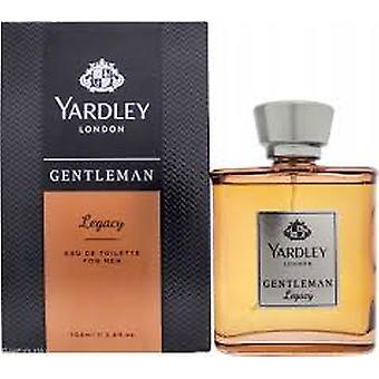 Yardley Lontoo Yardley herrasmies Legacy Eau de Toilette 100ml EDT Spray