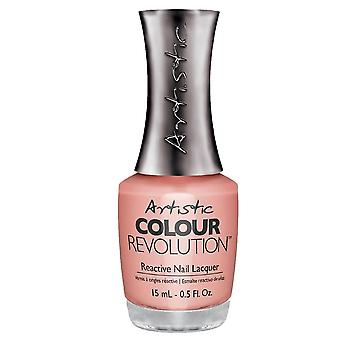 Artistic Colour Revolution Professional Reactive Hybrid Nail Lacquers - Peach Whip 15ml (2303046)