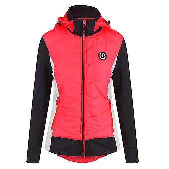 Imperial Riding Playfield Womens Jacket - Diva Pink