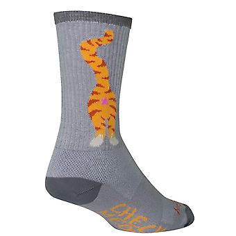 Chaussettes - Sockguy - 6'quot; Crew Pucker S/M Cycling/Running