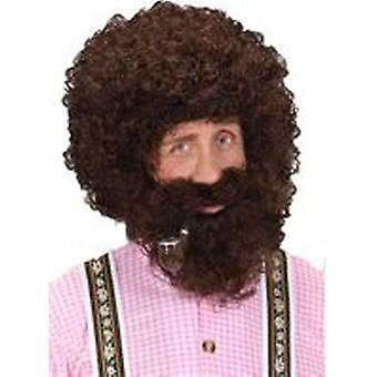 Guirca Curls Wig With Beard (Babies and Children , Costumes)