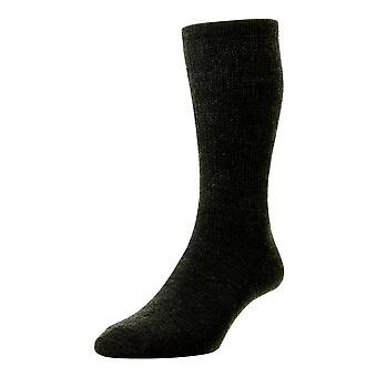 HJ Hall Wool Diabetic Socks - Charcoal