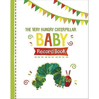 レインボーデザイン非常に空腹の毛虫赤ちゃんレコードブック