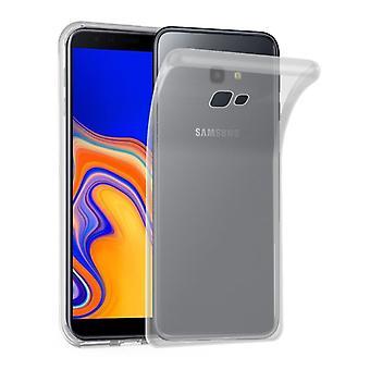 Cadorabo caso para Samsung Galaxy J4 PLUS caso capa-flexível TPU silicone caso ultra slim Soft tampa traseira caso pára-choques