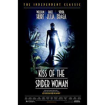 قبلة المرأة العنكبوت (إعادة الإصدار) (1985) ملصق السينما الأصلي