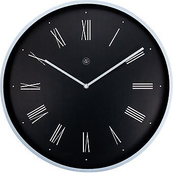 nXt - Wall clock - Ø 40 cm - Plastic - Black - 'Felix'