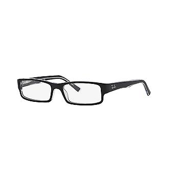 Ray-Ban RB5246 2034 Top Black On Transparent Glasses