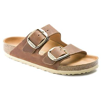 Birkenstock Arizona BIG BUCKLE OL Sandalia 1011073 Antiguo Marrón NARROW