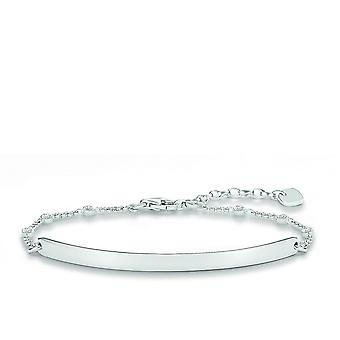 Thomas Sabo Love Bridge Silver Zirconia Bracelet LBA0040-051-14