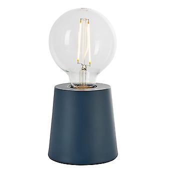 Endon Mono 1 Light Table Light Ink Blue (Base apenas) 80642