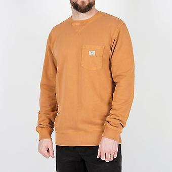 Passagier Wick Sweatshirt-gember