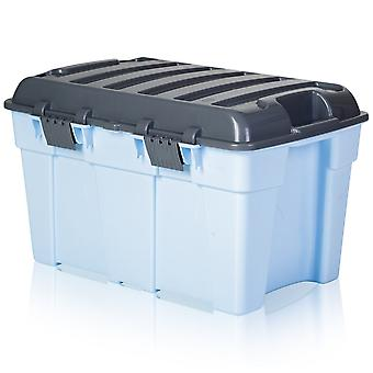 Wham Aufbewahrungspaket von 4 - 48 Liter Kunststoff Kofferraum Aufbewahrungsboxen
