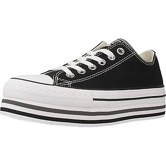 Converse Sport / Converse Double Lift Color Black Sneakers