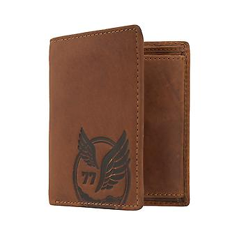 Camel active mens wallet wallet purse with RFID-chip protection Brown 7382