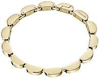 Calvin Klein Wavy Gold Tone Stainless Steel Bracelet KJAYJB100200