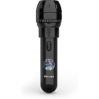Philips Disney Star Wars LED Flashlight with Projector, Black