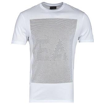 Emporio Armani Eagle Puzzle White T-Shirt