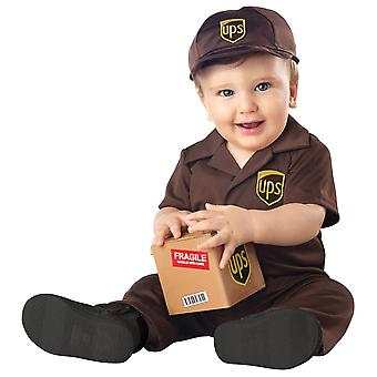 Ups Toddlers Costume