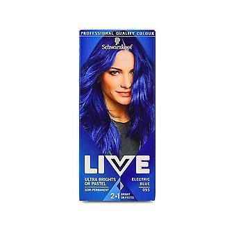 Schwarzkopf Live ultra Brights ou pastel-Electric Blue 95